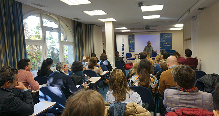 Emilio de Benito, presidente de ANIS, durante la presentación del informe EHON Salud Digital (eHealth Focus on)