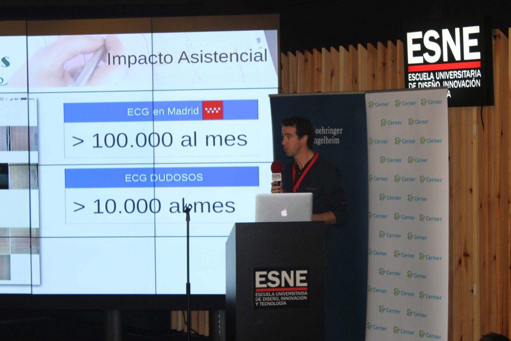 Presentación de ECG Consult, en Hackathon Salud 2017