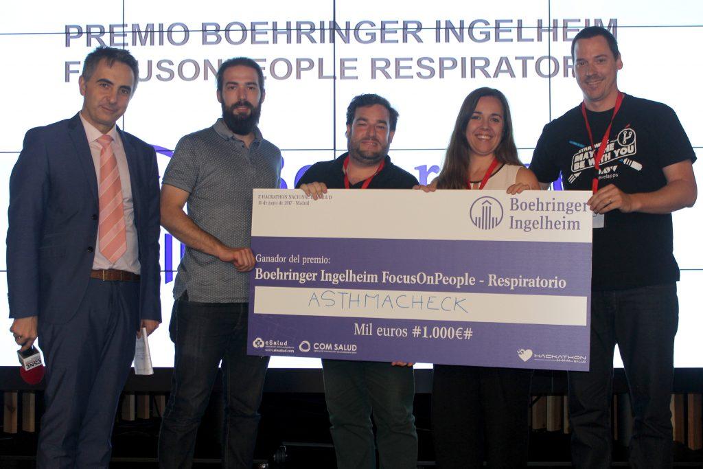 Premio Boehringer Ingelheim FocusOnPeople – Respiratorio