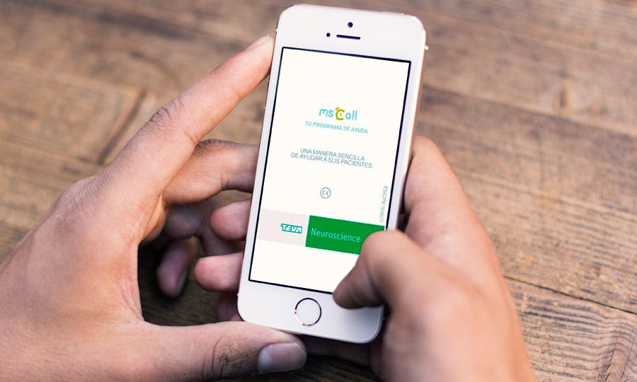 Mscall, la app de los pacientes con esclerosis múltiple