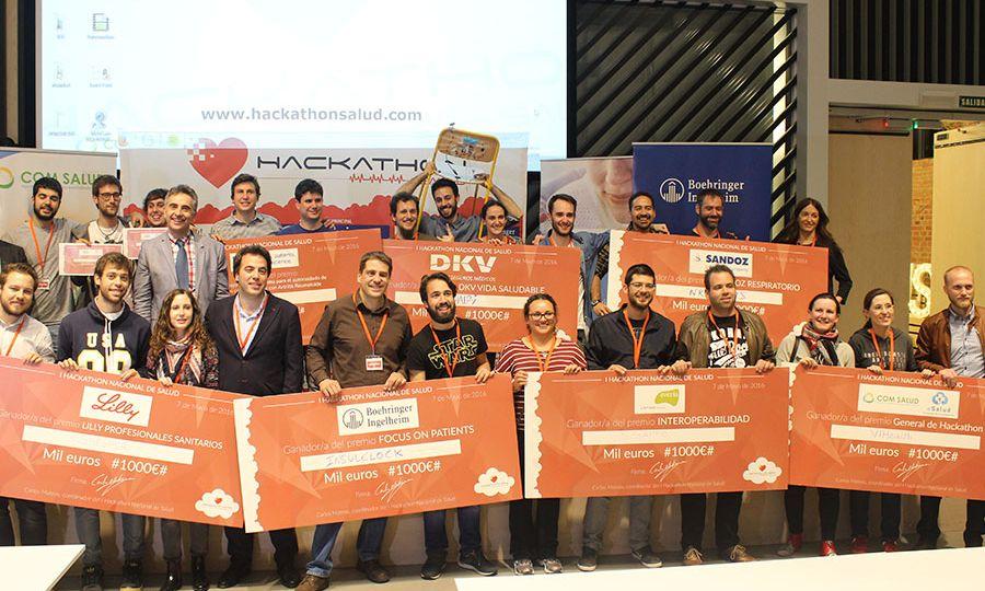 Proyectos ganadores Hackathon Salud