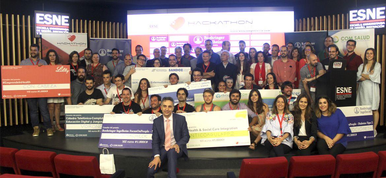 Ganadores del Hackathon Salud 2017