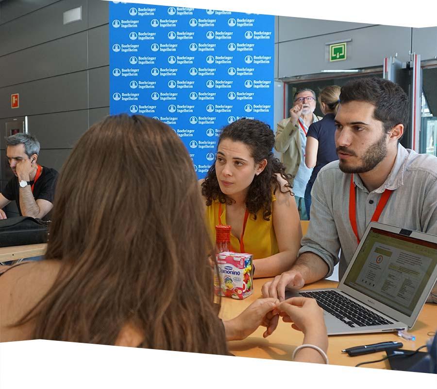 Equipos participantes en Hackathon Salud